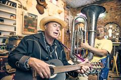 dik and ron (bugeyed_G) Tags: musician studio artist guitar tuba thepinnaclehof bugeyedg tphofweek251