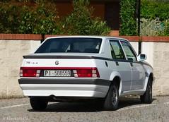 Alfa Romeo 75 1.8 IE (Alessio3373) Tags: alfa 75 alfaromeo dedion alfa75 transaxle alfaromeo75 7518ie alfa7518ie alfaromeo7518ie