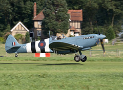 Spitfire (Bernie Condon) Tags: vintage fighter military ww2 spitfire preserved warbird raf warplane vickers supermarine oldwarden shuttelworth