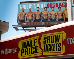 half-dressed, half-price (what's_the_frequency) Tags: show girls sexy canon tickets spring lasvegas nevada ad may guys billboard advertisement roadsign outback tix lightbox sincity halfprice girlsnight lasvegasboulevard advertise clarkcounty halfdressed calnevari sx50hs 52project2016