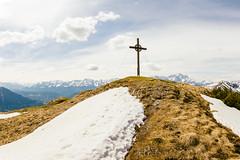 Gipfelkreuz Notkarspitze (Isar 89) Tags: berg alpen gipfelkreuz gipfel ammergauer notkarspitze