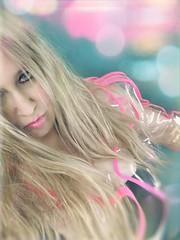 Plastique (BLACK EYED SUZY) Tags: portrait girl fashion self plastic clear blonde tadaa raincoat afterlight picsart