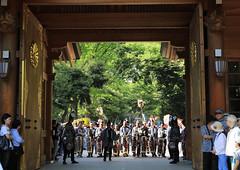Okunitama Shrine Festival (seiji2012) Tags: festival gate shrine parade kimono lantern fuchu