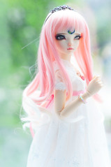 Ms Lotus >:D (Athena Roseanna Tse) Tags: doll lotus bjd fl fairyland luka balljointeddoll mnf minifee