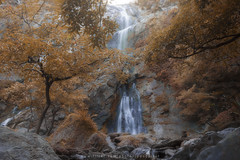 Klong Larn waterfall (Pond Pisut) Tags: autumn tree nature water photoshop canon landscape waterfall nationalpark stream natural kitlens kit 1855 process retouch hue naturelover naturescape 600d landscapelover