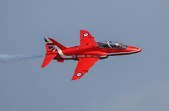 BAe Hawk T1 Red Arrows RAFAT 007-1 (cwoodend..........Thanks) Tags: duxford bae redarrows raf t1 2016 rafat baehawk rafscampton baehawkt1 theamericanairshow