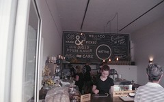 F549 (hronirheila) Tags: film coffee 35mm cafe nikon fuji native grain natura 1600 nsw grainy southcoast ulladulla nikonf70 fujinatura1600 fujinatura willco nativecafe