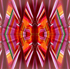2016-05-17 colorful abstract (april-mo) Tags: art colors collage mirror colours creative multicoloured symmetry flip symmetrical multicolored symtrie experimentaltechnique