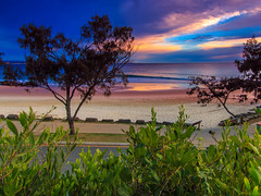 snapper rocks HDR (rod marshall) Tags: goldcoast snapperrocks snappersunrise