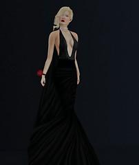 34. Jaily (AnnaG Pfeffer) Tags: black hair blonde gown lelutka azoury lyricalbizarre