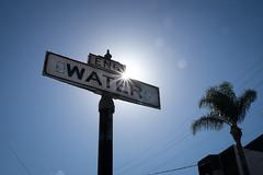 Drought, San Francisco (jimheid) Tags: sanfrancisco sun water drought flare
