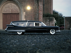 1959 Cadillac Superior Crown Royale Limousine Style Hearse 1:18 Diecast by Precision Miniatures (PaulBusuego) Tags: roof usa beach scale church car st america sedan dead toy photography death miniatures miniature bill coach model gm general outdoor michigan side detroit vinyl superior limo cadillac eldorado ambulance 64 motors professional collection funeral american commercial lincoln vehicle precision series crown greenlight mitchell chassis loader 75 deville saloon augustine luxury limousine hearse v8 fins royale 1959 fleetwood 1960 118 deceased luxurious diecast vynil 3way mortuary procar bexhill landau coachbuilt landaulet cooden accubuilt