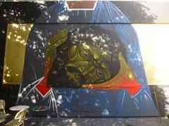 Sergii Radkevitch : Saint Denis (14 mai 2016) (Archi & Philou) Tags: head ukraine tte paintedwall saintdenis murpeint paris11 radkevitch