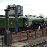 Flying Scotsman at Bo'ness
