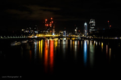 londonlight (lewis 22) Tags: bridge london ponte redlight londra tamigi lightinthenight londradinotte tamigibynight