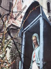 Warsaw (tanxiaolian91) Tags: architecture graffiti spring hipster poland communist warsaw organic