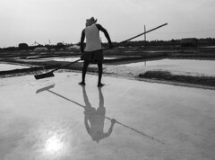 Marakannam (#Manikandan) Tags: salt water reflection saltpans chennai nikon nikond5200 marakkanam pondicherry