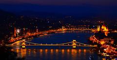 Budapest Skyline Dusk.. Handheld! (slim studios) Tags: longexposure bridge europe hungary sigma1850f28 nikond3100