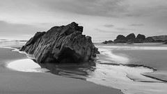 Changing Sands (brwestfc) Tags: beach water pool rock sand cornwall tide freathy