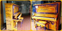 CELEBRATING MINNEAPOLIS THE CITY OF LAKES (Visual Images1) Tags: diptych piano minneapolis picmonkey