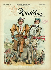 1896-05-20. The biggest people on the road (foot-passenger) Tags: puck americanmagazine   1896   caricature loc libraryofcongress