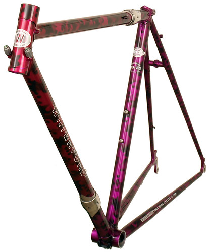 """<p>22-Series with integrated guides, head tube extension, S&S Couplers and """"tribal"""" styling.  62857</p>"""