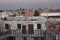 los tejados son as (hireen) Tags: canon atardecer morocco maroc marrakech marrakesh marruecos tejados azulejos eos450d hireen