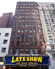 LATE SHOW WITH DAVID LETTERMAN, Ed Sullivan Theater, New York City (jag9889) Tags: show nyc ny newyork david theater theatre manhattan broadway orchestra late letterman cbs 2012 davidletterman edsullivan paulshaffer jag9889 y2012