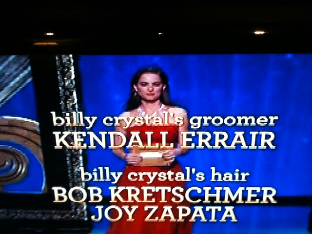 BILLY CRYSTALs groomer??