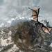 skyrim dragon attack planet