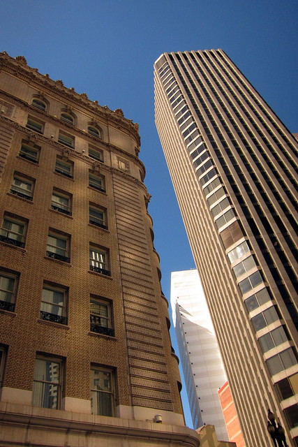 San Francisco - Financial District: Plaza Hotel and McKesson Plaza