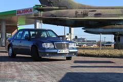 W124 500E / E500 929 Nautical Blue (Gienkas) Tags: blue mercedes benz poland 124 mercedesbenz vs nautical w124 929 e500 eklasse 500e su20r