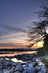 winter sunset, Tsehum Harbour (Fearon-Wood Photography) Tags: sunset bc victoria sidney northsaanich vanislemarinawestport