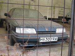 MAY 1991 ROVER 820 SI 1994cc AUTOMATIC H630YRA (Midlands Vehicle Photographer.) Tags: si may rover automatic 1991 820 1994cc h630yra
