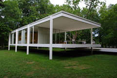 Farnsworth Pavilion Exterior 9 (michael.veltman) Tags: from nw exterior farnsworth pavilion elevation overall