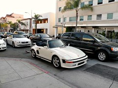 Porsche 930 Slantnose Convertible (Hertj94 Photography) Tags: california white public canon drive nikon january hills exotic german beverly spotted 2012 worldcars