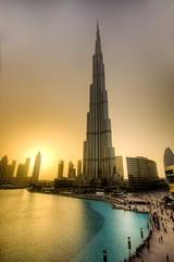 Burj Khalifa, Dubai, UAE (- peperoni -) Tags: sunset tower downtown dubai uae emirates skycraper burjkhalifa
