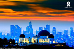 Fire in the LA Sky ( In 2 Making Images | L.A.) Tags: california skyline clouds sunrise fire eos griffithobservatory digitalphotography downtownlosangeles ilovela amazingclouds downtownlosangelesskyline morningphotography discoverlosangeles canonrebelt2i albertvalles morninglongexposure