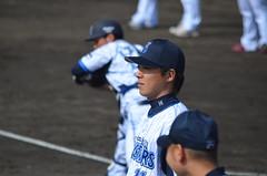 DSC_0952 (mechiko) Tags: 120205 横浜ベイスターズ 小林太志 横浜denaベイスターズ 2012春季キャンプ