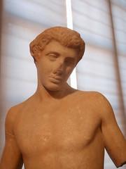 Pan: detail (diffendale) Tags: original sculpture rome roma stone youth nude god roman replica pan marble copy viatasso polykleitos polyclitus policleto 5thcbce 1stcce pleiades:findspot=423025