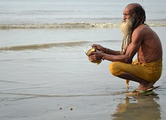 The Prayer : Acknowledge Your Sin (pallab seth) Tags: morning sea india saint festival religious nikon bath religion culture delta fair tradition custom hindu hinduism bengal pilgrimage pilgrim ganga sadhu 2012 holyman ganges mela sagar bayofbengal sunworship gangasagar holydip gangasagarmela pallabseth worshippingthesungod
