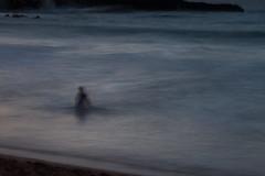 ocean ghosts III (bysleightofhand1) Tags: ocean sea 3 blur beach water person hawaii long exposure iii maui nighttime ghosts