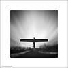 Guardian Angel (Ian Bramham) Tags: bw sculpture white black angel photo gateshead angelofthenorth antonygormley ianbramham