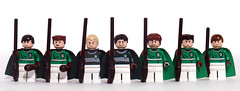 Slytherin Quidditch Team (Oky - Space Ranger) Tags: team community lego stadium harry potter pitch build quidditch hogwarts slytherin gryffindor
