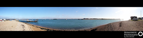 Hayling Ferry Panorama