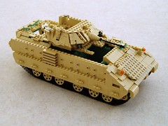 M2 Bradley Work In Progress (Mad physicist) Tags: lego military workinprogress wip bradley ifv