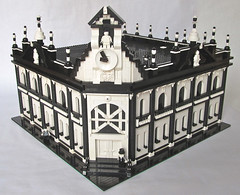 Mime Town Hall Full View (Imagine) Tags: toys lego townhall minifigs mime moc foitsop imaginerigney