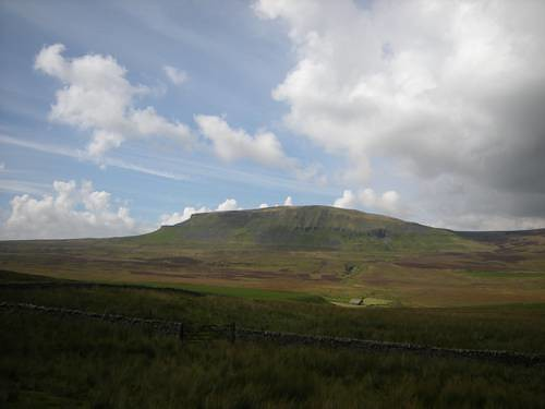 Looking westwards to Pen-y-Ghent (photo by ANTHONY LEWIS)