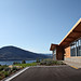 Poplar Grove Winery - The front door & Okanagan Lake