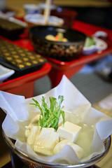 Tofu Hot Tub (Marquisde) Tags: food vegetables japan dinner japanese dof bokeh tofu depthoffield koyasan meal vegetarian 7d ryokan koya beancurd kaiseki 高野山 mountkoya kaisekiryori 懐石 canonefs1755mmf28isusm 懐石料理